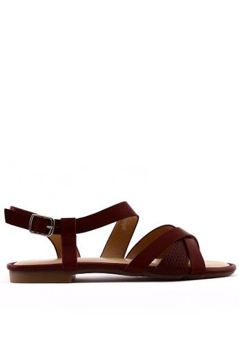 7soles purple Aliana L Strappy Sandals BD987SH1F3874BGS_1