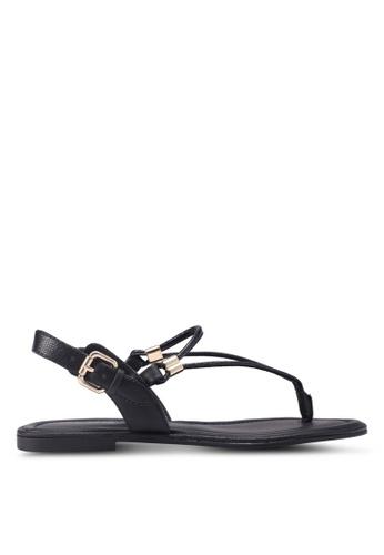 ALDO black Vaussa Sandals 4CA97SH4B5FCEFGS_1