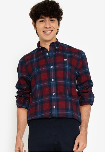 Timberland red Back River Mid H.H Shirt BFFE4AAD2454EDGS_1