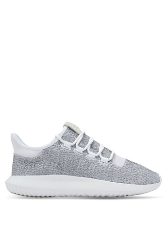 adidas grey and white adidas originals tubular shadow AD372SH0SEAAMY_1
