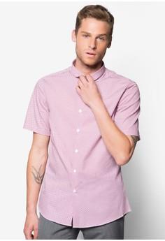 Fiji 幾何印花短袖襯衫