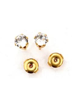 14K Gold Filled Stoned Earrings