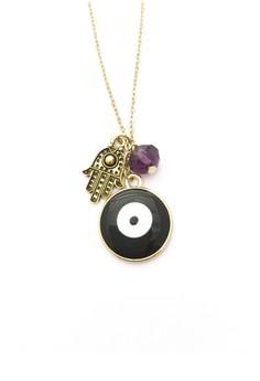 Hamsa and Evil Eye Necklace