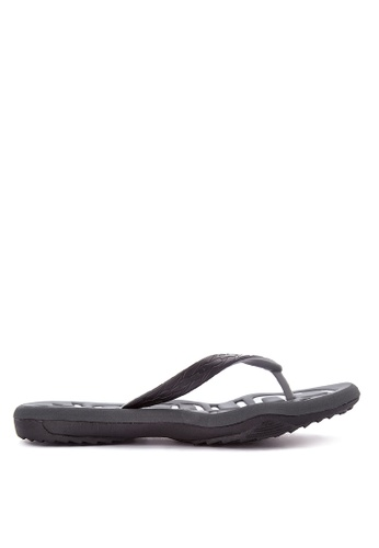 Krooberg black and grey Contour 7 Flip Flops KR692SH0K3ENPH_1
