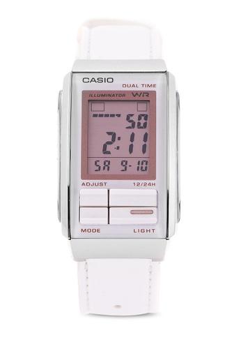 eae7d1f85 Shop Casio Casio FUTURIST Watch LA-201WBL-7A Online on ZALORA ...