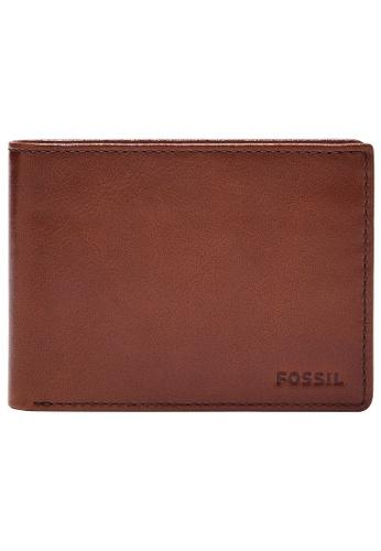 Fossil brown Mykel Wallet SML1801210 65DCEACADC9995GS_1