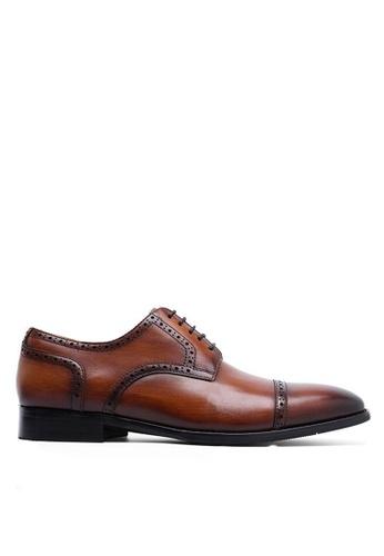 Twenty Eight Shoes Leather Cap Toe Business Shoes 892101 A3A8BSH4CB148EGS_1