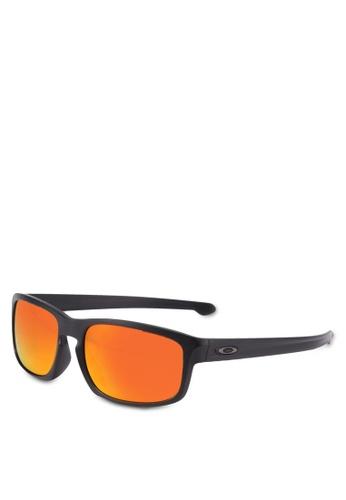 Oakley black Oakley Sliver Stealth OO9409 Polarized Sunglasses 7BD7FGL4316F93GS_1
