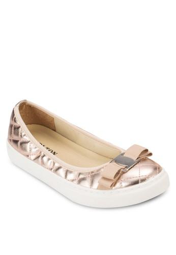 Quilted Ballerinas,esprit 童裝 女鞋, 鞋