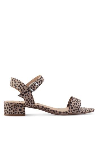 fa39fded3d Dorothy Perkins brown Animal Sprite 2 Part Sandals 6BB71SHBD954E7GS_1