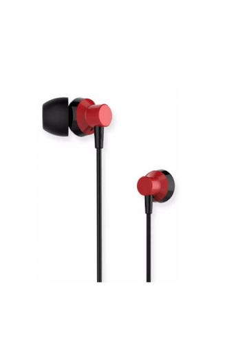 Stylebox red Remax RM-512 Metal Wired Music Earphone 23F7DACBF0E7F7GS_1