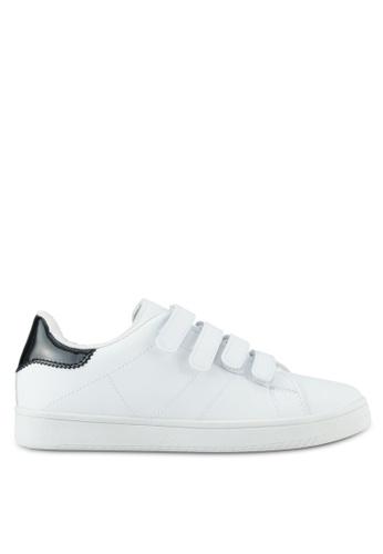 Rubi white Cathryn Strap Sneakers RU506SH0SL4ZMY_1