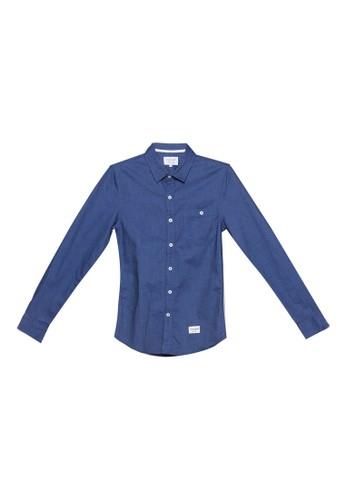 High Cultured blue Long Sleeve Shirt - 224 47F76AA53BBBABGS_1