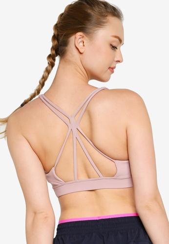 New Balance 粉紅色 Nb 繞帶運動內衣 5197AUS2B56341GS_1