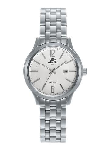 Roscani silver Roscani Joy 414 (Sapphire Crystal + WR 5ATM) Stainless Steel White Bracelet Women Watch 002C5ACA5A7A3EGS_1