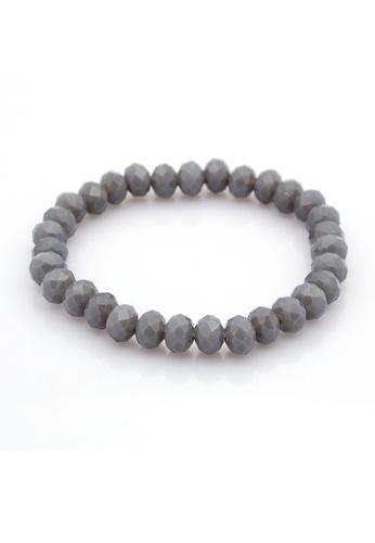 LEUPP grey Crystal Glass Abacus Beads - Gray TO983AC98JVDPH_1
