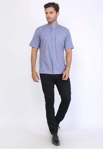 Allev blue AFIF Shirt- Biru F4B69AA16E22CCGS_1