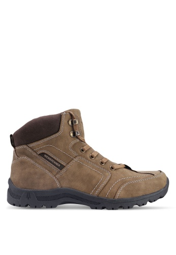 Weinbrenner brown Hiking Boots 76072SHB266FF5GS_1