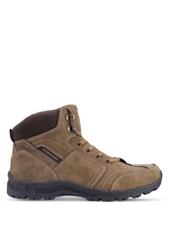 Weinbrenner brown Hiking Boots 76072SHB266FF5GS_1
