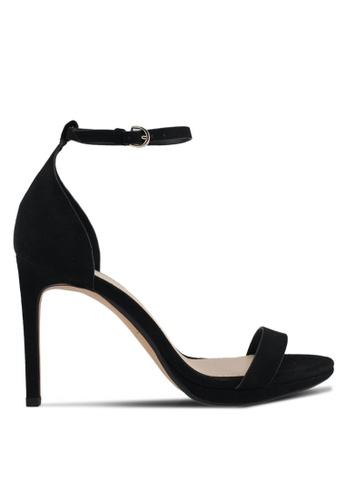 Mango black Ankle-Cuff Sandals 273F8SH96E2E63GS_1