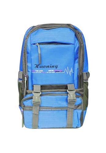 Manmico blue Fashion Sport Climbing Hiking School Bag BackPack BP-H1 BCBBAACD581084GS_1