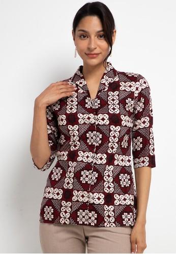 Adikusuma multi Blouse Batik Kawung Beton 57A24AA60388F8GS_1