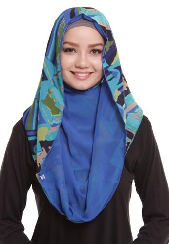 Mybamus Ethnic Hoodie Double Side Blue