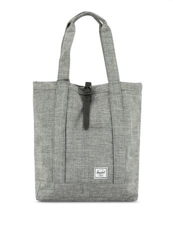 Herschel grey Market Tote Bag 97B1AAC0EE89A9GS_1