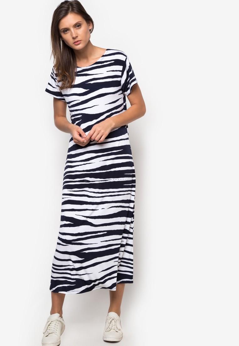 Harmony Printed Maxi Dress