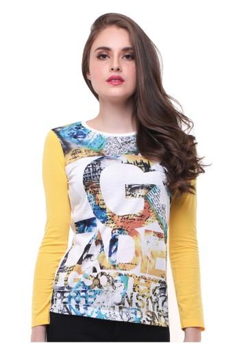 LGS white LGS - Slim Fit - Kaos Wanita - Lengan Panjang - Bergambar - Putih 34B05AA890688EGS_1