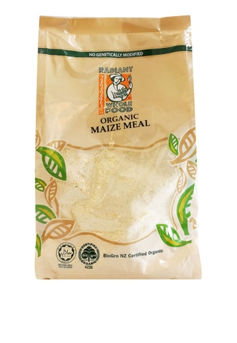 Radiant 【Radiant】Organic Maize Meal - 500g B0668ES7A14147GS_1