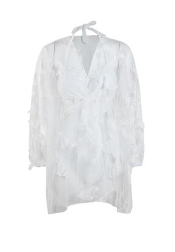 Its Me white (2PCS) Sexy One Piece Bikini Swimsuit 0BA62US8498DDEGS_1
