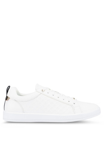 ALDO white Coventry Sneakers 2C41ASHF86DAABGS_1