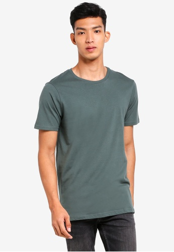 Cotton On green Essential Crew Tee C24CEAAA8DF481GS_1