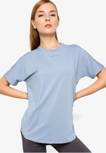 Hummel 藍色 Reese 短袖T恤 2A095AA76B3347GS_1
