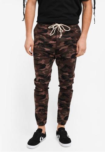 Flesh IMP 綠色 Bouseman Loop Jogger Pants 6E54BAAC3F4F04GS_1