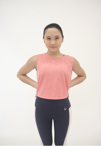Liberty Active pink Breezy Tie Back Top C9F6AAA6E0A7ACGS_1