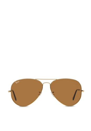 a948e06bcc Buy Ray-Ban Aviator Large Metal RB3025 Sunglasses Online on ZALORA ...