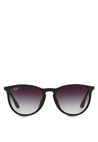 Ray-Ban black and multi and grey Erika RB4171 Sunglasses RA370GL46SDXSG 1 ecbe7c5806
