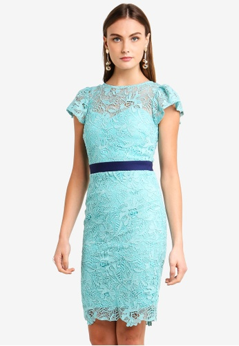 Paper Dolls blue Lace Dress 6DC13AAAE231A4GS_1