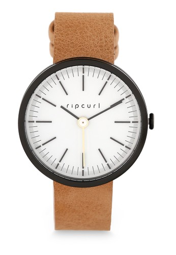 Rip Curl black Solstice Midnight Leather Watch 435B1ACD773981GS_1