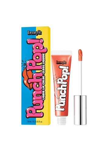 Benefit orange Benefit Punch Pop! Liquid Lip Colour (Mango) EBB6BBEDE02E87GS_1