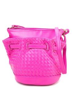 Elle Bucket Weave Bag
