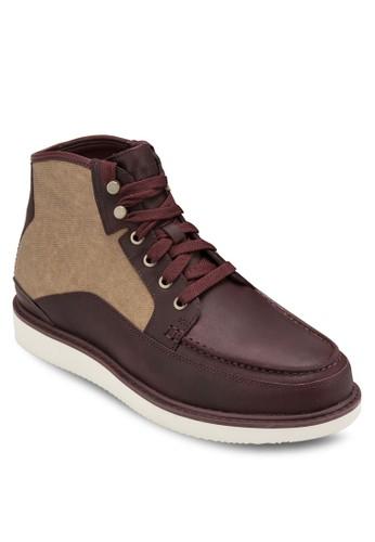 esprit鞋子Newmarket 皮革 and 布料 Boots, 鞋, 鞋
