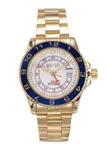 SO&CO gold Hudson 5510 Watch 95691ACB494F1DGS_1