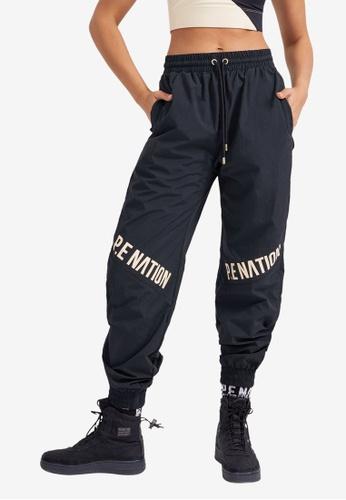 P.E Nation black Alliance Pants A68CCAAA417528GS_1
