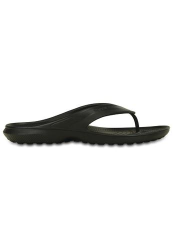 Crocs black Classic Flip Blk 76F29SHB3CDE02GS_1