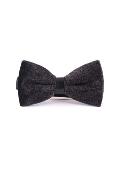 894065f9d255 Splice Cufflinks black Decorous Series Black Velvet Bow Tie  FAA33AC9081DD0GS_1