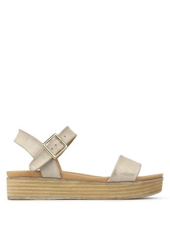 Betts brown Fortress Platform Sandals 069D0SH09951CDGS_1