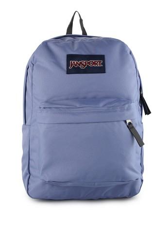 JanSport blue Superbreak 68B5FAC715082AGS_1